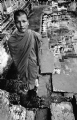 Monk at Angkor Wat :Black and White Photo-149