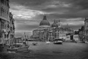 Venezia Italy:Black and White Photo-156