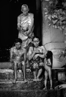 Cambodia :Black and White Photo-154