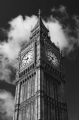 Big Ben London:Black and White Photo-46