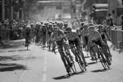 The Tour de France in London 2006:Black and White Photo-76