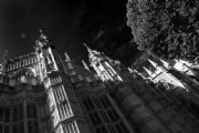 Westminster Abbey London:Black and White Photo-85