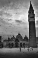 Italy Venice - Riva Degli Schiavoni:Black and White Photo-91