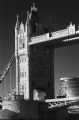 Tower Bridge London:Black and White Photo-94