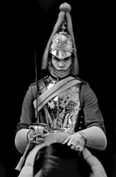 Royal Guards:Black and White Photo-43