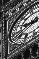 Big Ben London:Black and White Photo-90