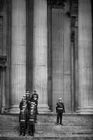 St Paul's Cathedral, London:Black and White Photo-351