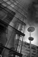 Urban London:Black and White Photo-209