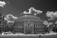 Royal Albert Hall London:Black and White Photo-214