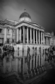 The National Gallery, London:Black and White Photo-229