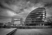 London City Hall:Black and White Photo-232