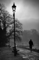 Richmond England in Winter:Black and White Photo-236