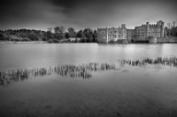 Leeds Castle:Black and White Photo-250