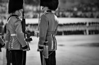 Trooping the Colour 2008:Black and White Photo-283