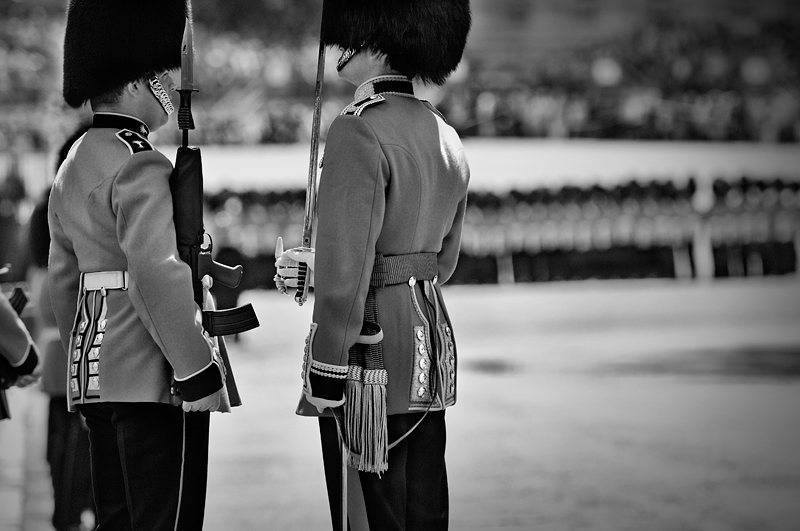 Trooping the Colour  2008年:モノクロ写真-283