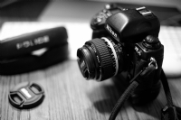 Ai Nikkor 50mm F1.2S and F5:Black and White Photo-359