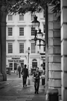 Covent Garden London:Black and White Photo-462