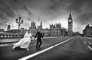 London Wedding Photography:Black and White Photo-483