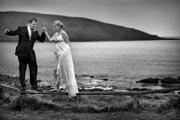 Wedding Day in Devon:Black and White Photo-401