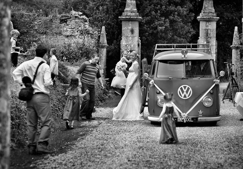 Wedding Day - Helen and Nick:Black and White Photo-402