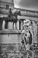 Chinese New Year Lion Dance:Black and White Photo-500