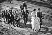 Wedding at Cambridge:Black and White Photo-494