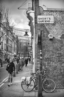 Short's Gardens WC2:Black and White Photo-497