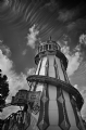 Joy Ride Tower:Black and White Photo-588