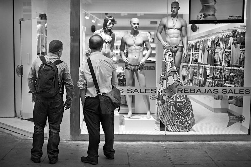 Window Display:Black and White Photo-615