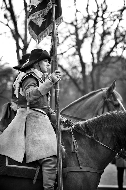 The Commemoration of Charles I's execution 2011:Black and White Photo-622