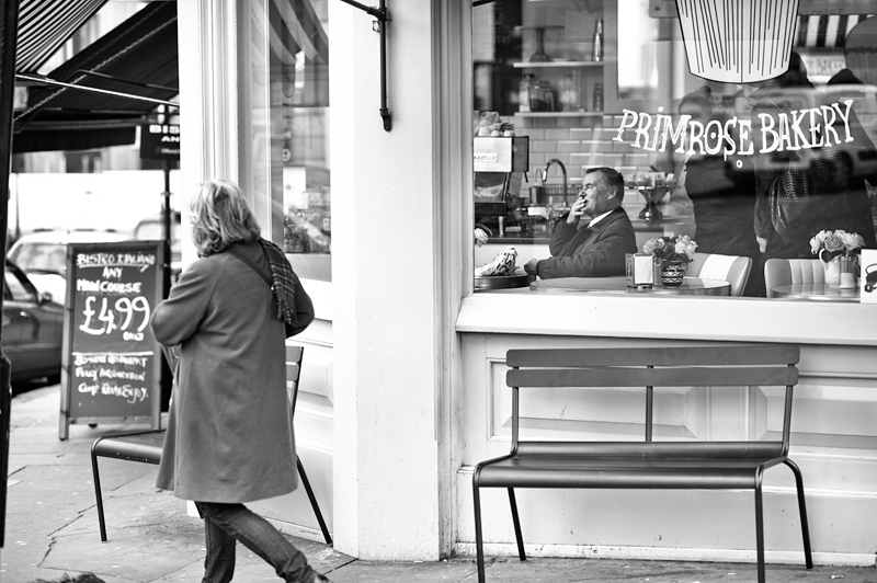 Primrose Bakery London:Black and White Photo-624