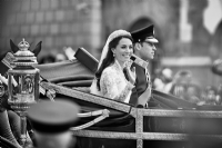 Royal Wedding - Kate and William:Black and White Photo-643