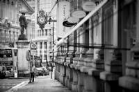 Cornhill, City of London:Black and White Photo-678