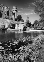 Warwick Castle:Black and White Photo-700