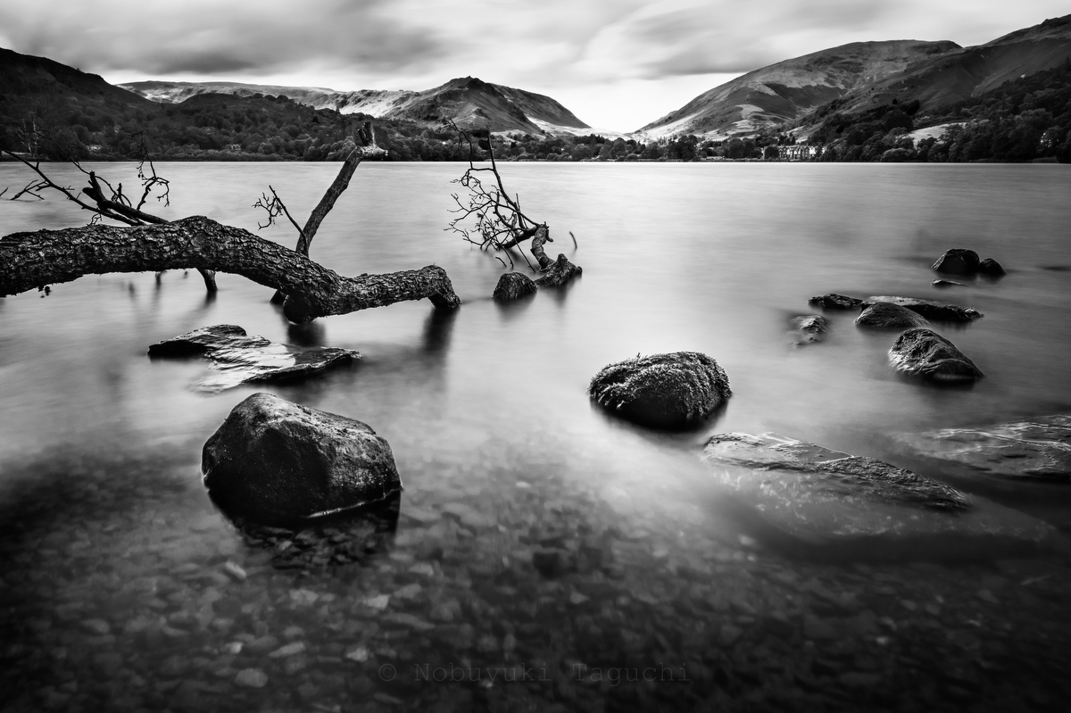 Lake District:Black and White Photo-741
